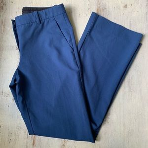 Theory Emery 2 Blue Trouser Pant